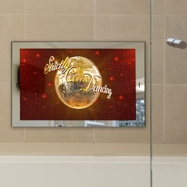 26 Waterproof Bathroom Mirror TV LED
