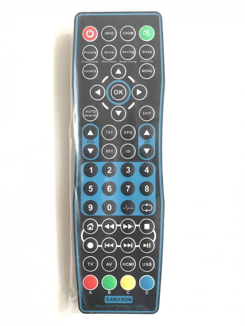 New Remote For Waterproof TV 2016-2020:IN STOCK